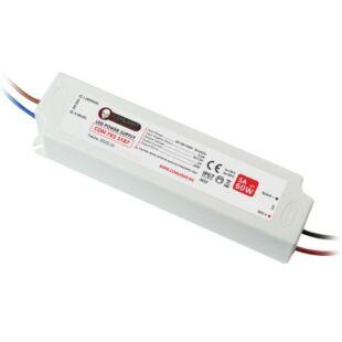 5A (60W) Szerelhető kültéri LED tápegység