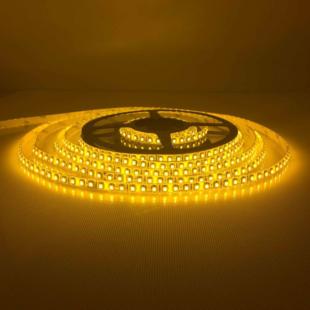 120 LED/m Kültéri Sárga