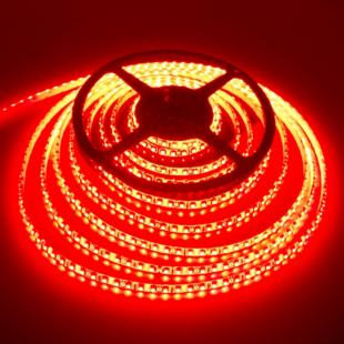 120 LED/m Kültéri Piros