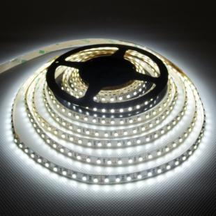120 LED/m Beltéri Hideg fehér / 3 év garancia