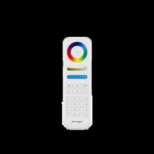 8 zónás RF (WiFi) RGB, RGBW, CCT, dimm. Touch távirányító