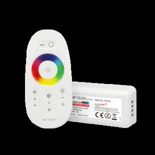 RF (WiFi) RGB LED vezérlő egység Touch távirányítóval