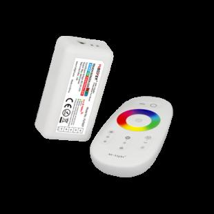 RF (WiFi) RGBW LED vezérlő egység Touch távirányítóval