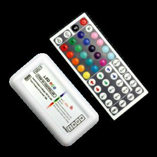 RF RGB vezérlő  44 gombos távirányítóval