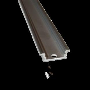 2m süllyesztett alumínium profil LED szalaghoz