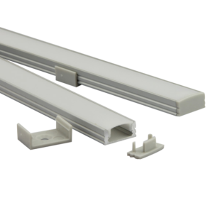 2m U alumínium profil LED szalaghoz