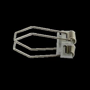 Rögzítő szett gipszkartonba süllyeszthető 45° profilhoz