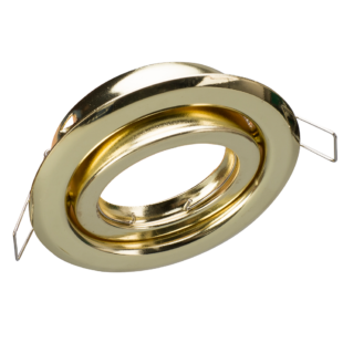 Arany billenthető kerek spot keret