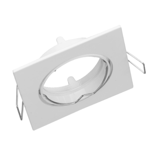 Fehér billenthető négyzet spot keret