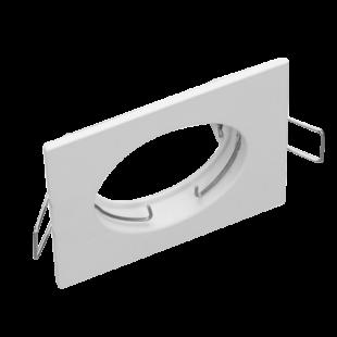 Fehér fix négyzet spot keret