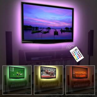 USB TV háttérvilágítás Színes (RGB)