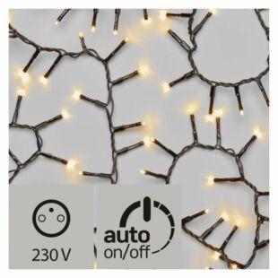 LED karácsonyi fények , kültéri, 12m, WW időzítővel
