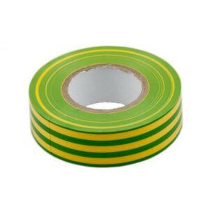 GAO Szigetelőszalag, 19mmx20m, zöld/sárga