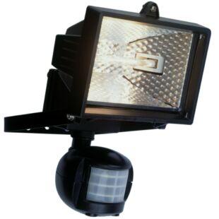 GAO Halogén fényvető, mozgásérzékelővel, 120W, fekete, IP44