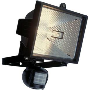 GAO Halogén fényvető, mozgásérzékelővel, 400W, fekete, IP44
