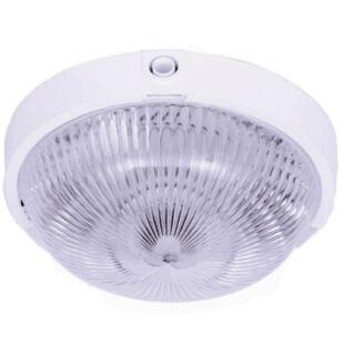 GAO LED mennyezeti lámpatest VEGA fehér, átlátszó üvegbúrával, 220-240V, 7W, 4000K, IP44