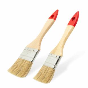 Festőecset szett - fa nyéllel - 2 db / csomag