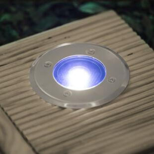 Delight 11440 LED-es süllyeszthető, lépésálló szolár lámpa