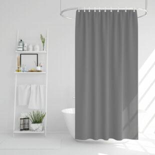 Zuhanyfüggöny - szürke - 178 x 183 cm