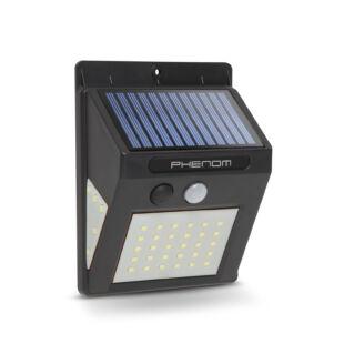 Mozgásérzékelős szolár reflektor - fali - 40 LED