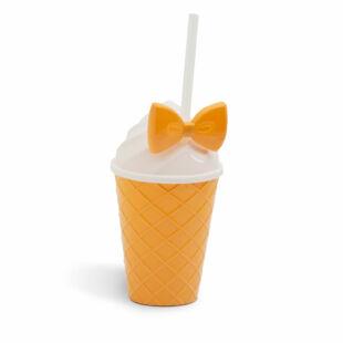 Műanyag pohár - fagylalt design