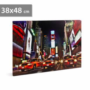 """LED-es fali hangulatkép - """"Times Square"""""""