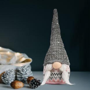 Karácsonyi skandináv manó - 4 féle - 22 cm