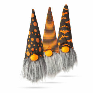 Skandináv manó - Halloween - 3 féle - 21 cm