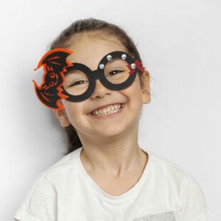 Halloween-i party szemüveg - denevér