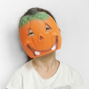 Halloween-i maszk - tök - narancssárga