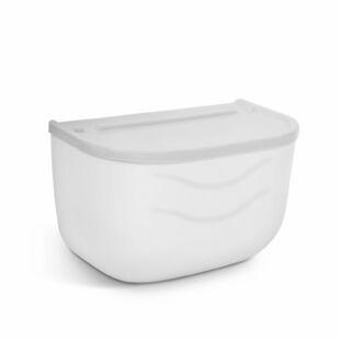 WC-papír tartó szekrény - fehér - 210 x 135 x 135 mm