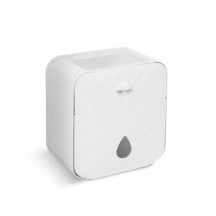 WC-papír tartó szekrény - fehér - 205 x 125 x 220 mm