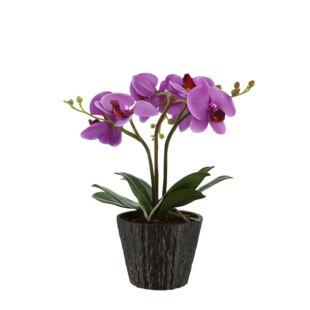 Lila Orchidea asztali lámpa