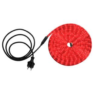 LED tömlő 6 m piros