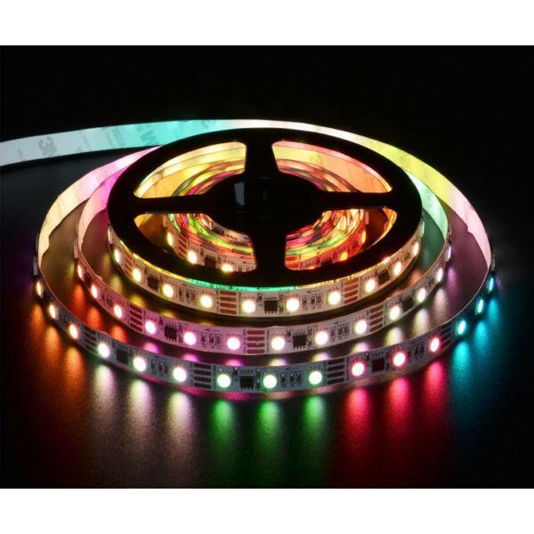 60 LED/m Beltéri Színváltós és meleg fehér Színes (RGBW)