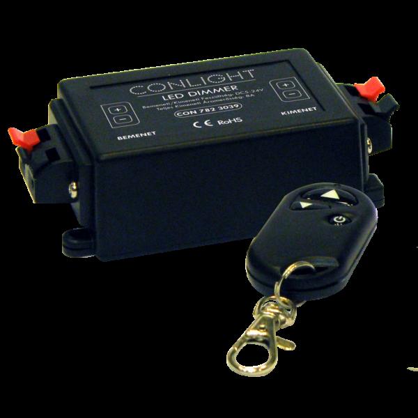 Távirányítós RF Dimmer egyáramkörös LEDszalagokhoz
