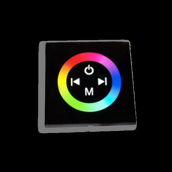 Fali RGB Vezérlő/Kapcsoló 12A