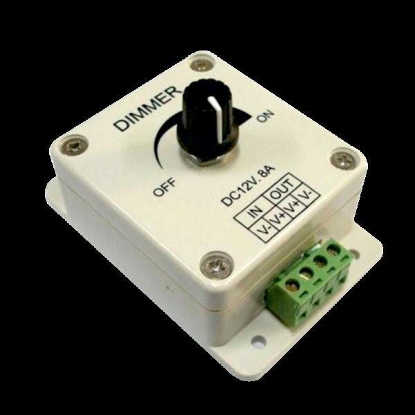 Fokozatmentes LED Dimmer tekerővel