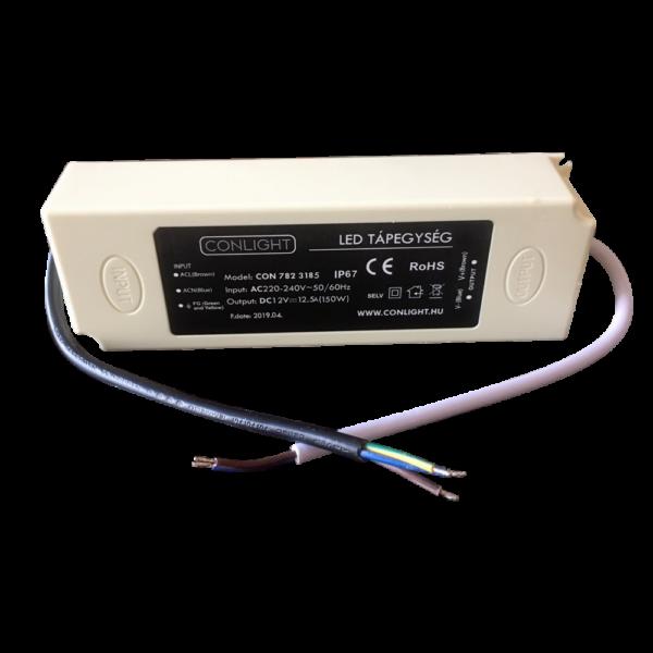 Egyenfeszültségű stabilizált táp 12,5A (150W)