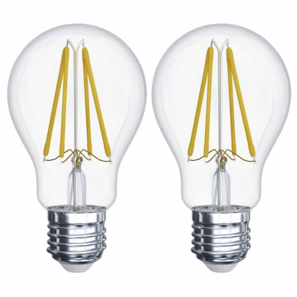 EMOS LED IZZÓ FILAMENT A60 A++ E27 6W WW (2DB-os csomag)