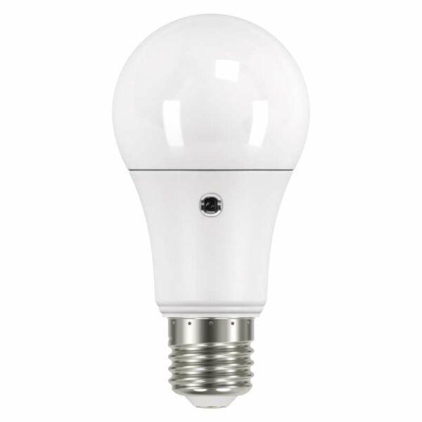 EMOS LED izzó fényérzékelővel classic A60 E27 9W WW