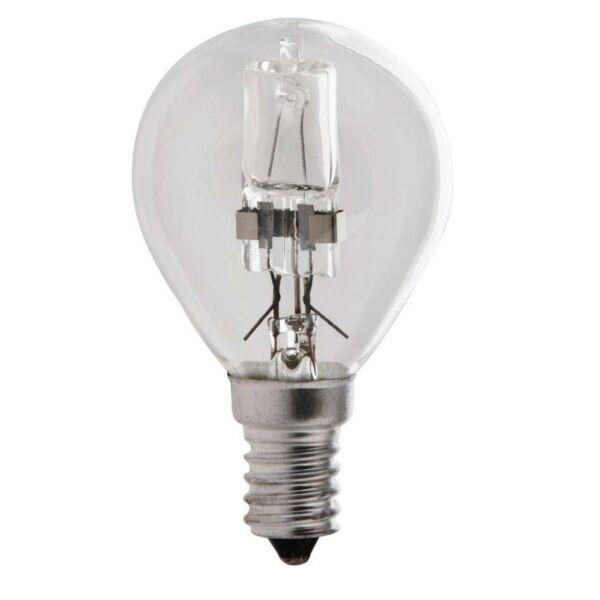 GAO ECO halogén fényforrás, E14, kisgömb, 28W P45