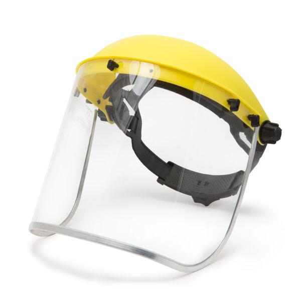 Arcvédő plexi pajzs