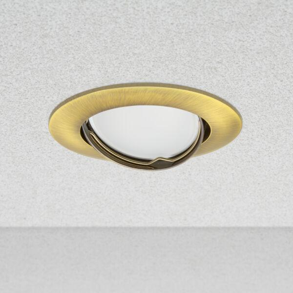 """Phenom 40801PG Spot lámpatest """"Helsinki"""" billenthető  - POLISHED GOLD"""