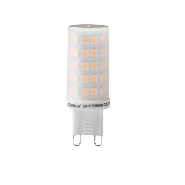 ZUBI HI LED 4W G9-WW fényforrás, LED izzó