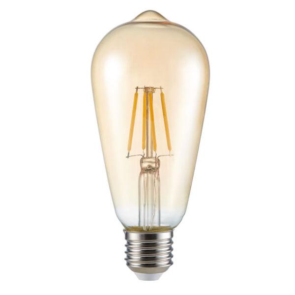 ST64 FILLED 6W E27-WW fényforrás, LED izzó