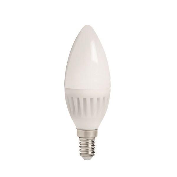 DUN HI 8W E14-WW fényforrás, LED izzó