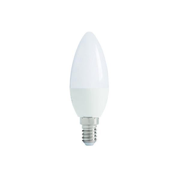 IQ-LED C37E14 5,5W-CW fényforrás, LED izzó