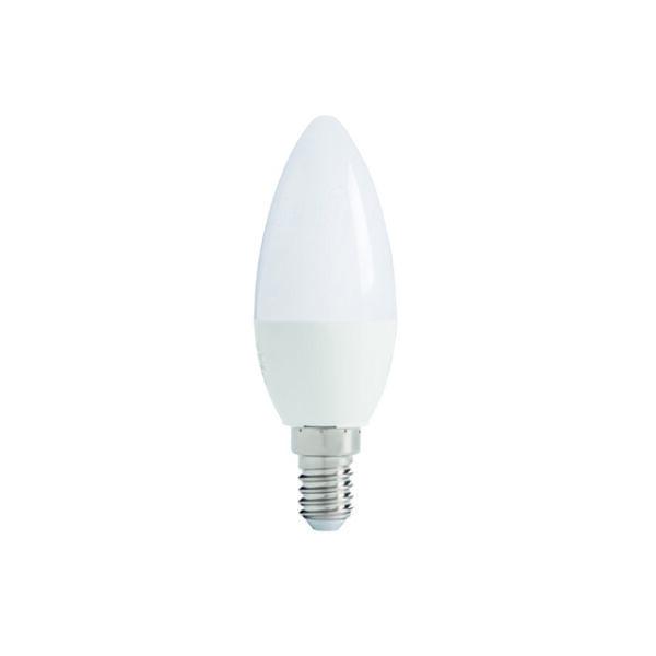 IQ-LED C37E14 7,5W-CW fényforrás, LED izzó