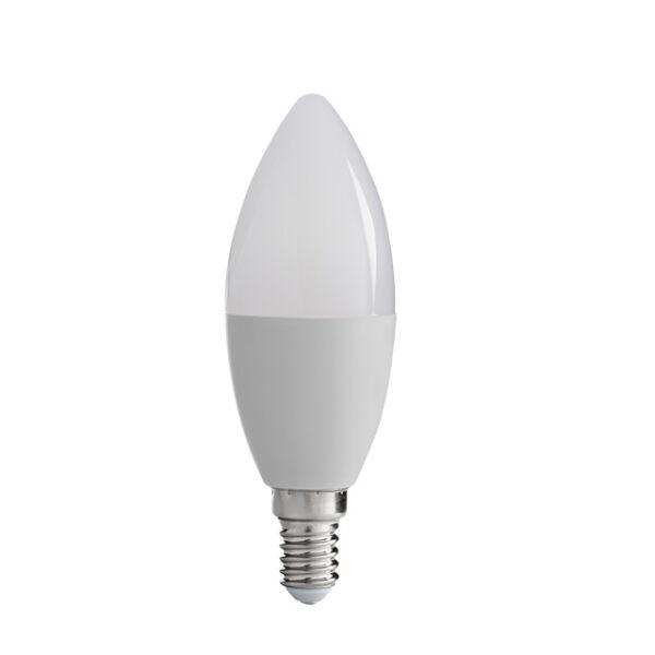 MIO LED8W C37 E14-WW fényforrás, LED izzó